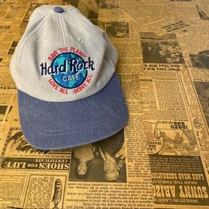 Vintage Hard Rock Cafe Snapback Cap